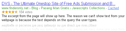 Pasang Rating Aggregate Star Rich Snippets