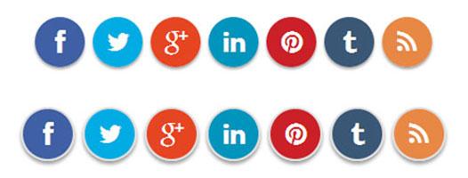 Membuat Tombol Share Like FB Twitter Follow tanpa Plugin