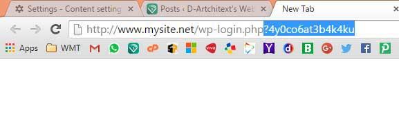 Menyembunyikan URL Admin WordPress dengan htaccess
