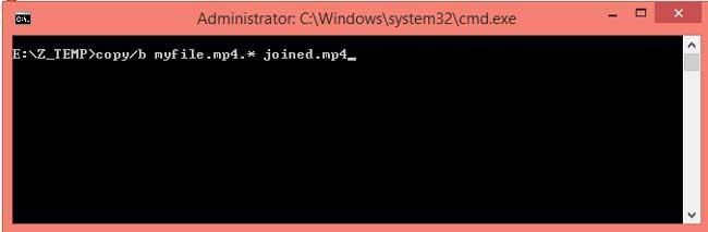 Cara Menggabungkan File 001 dst tanpa Software
