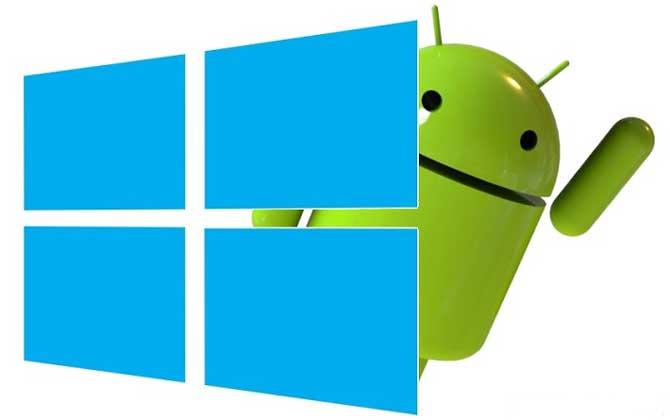 Cara Menjalankan / Membuka App Windows di Android