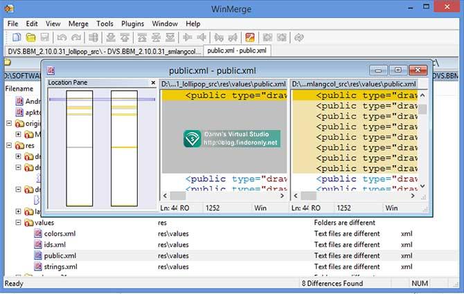 Mencari Perbedaan 2 Folder dan Isinya Secara Otomatis