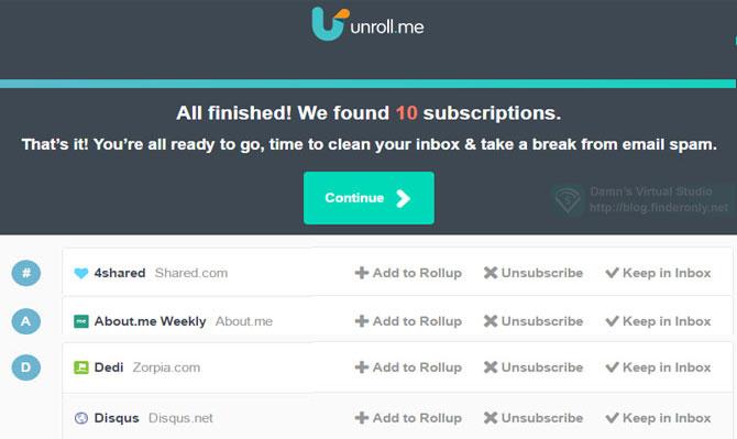 Cara Unsubscribe Email Sekaligus / Berhenti Berlangganan