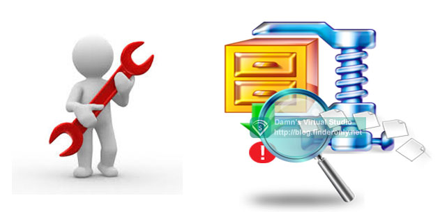 Cara Mengambil Data File ZIP / Rar yang Corrupt