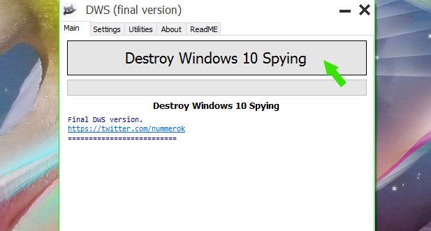 Atasi laptop boro data pakai Destroy Windows Spy