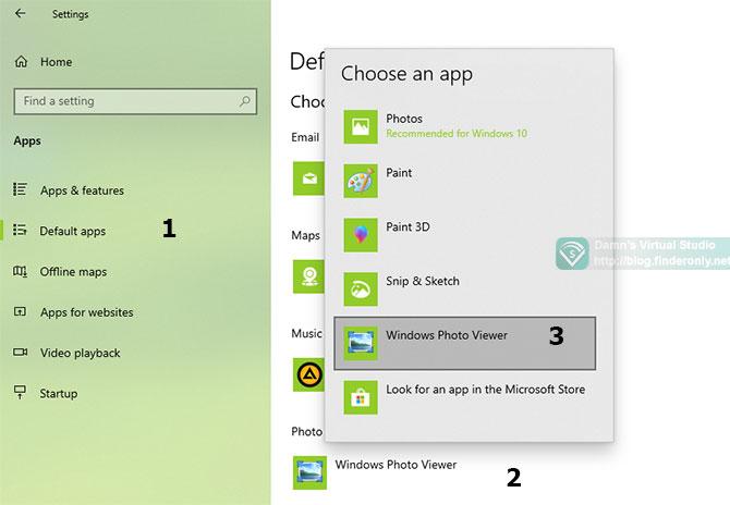 Setting Default App Windows 10 terbaru