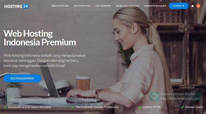 Review Hosting24, Hosting Premium 24/7