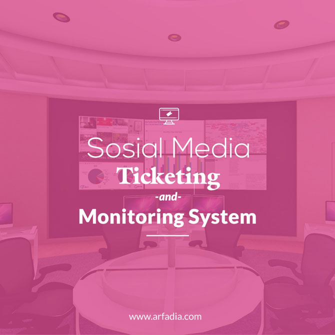 Social Media Ticketing and Monitoring System