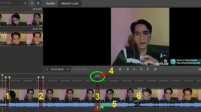 Memotong Video dengan SolveigMM Video Splitter