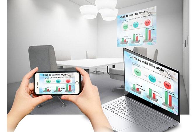 Presentasi PowerPoint Pakai HP