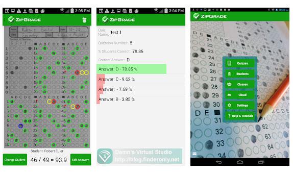 Aplikasi Koreksi LJK  Modal Scan Foto