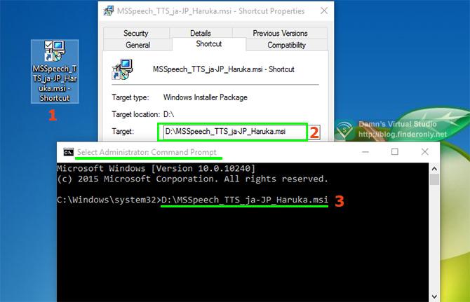 Perbaiki Error 2503 2502 via command prompt