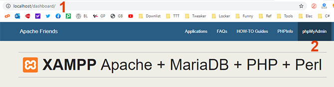 Membuat Database di XAMPP