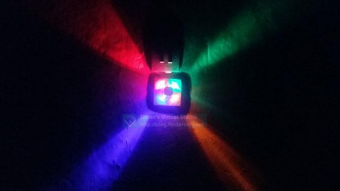 Lampu Dinding Warna Warni Otomatis